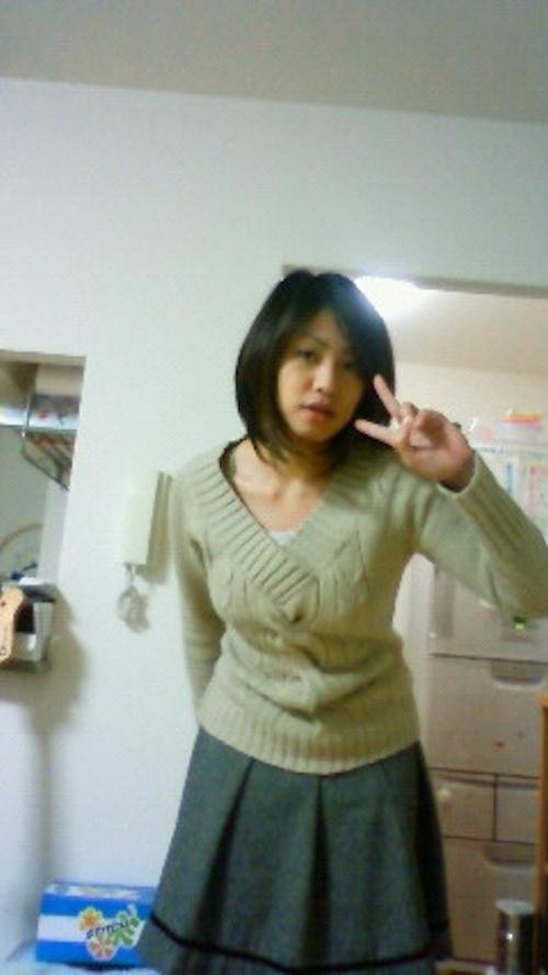 素人女性が自宅で服を脱いで自分撮りしたマ○コ画像 1