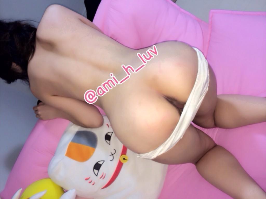 ちっぱい美微乳&パイパン美少女の裏垢ヌード画像 14