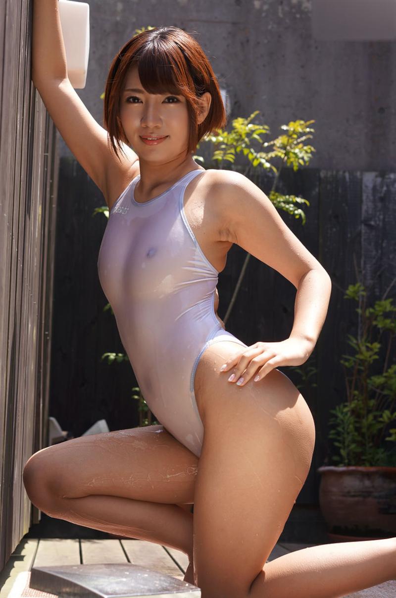 アイドル級美少女のスケスケ水着画像 3