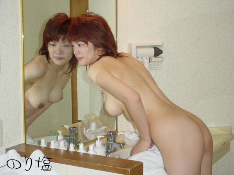 巨乳なガールフレンドをホテルで撮影したプライベートヌード画像 5