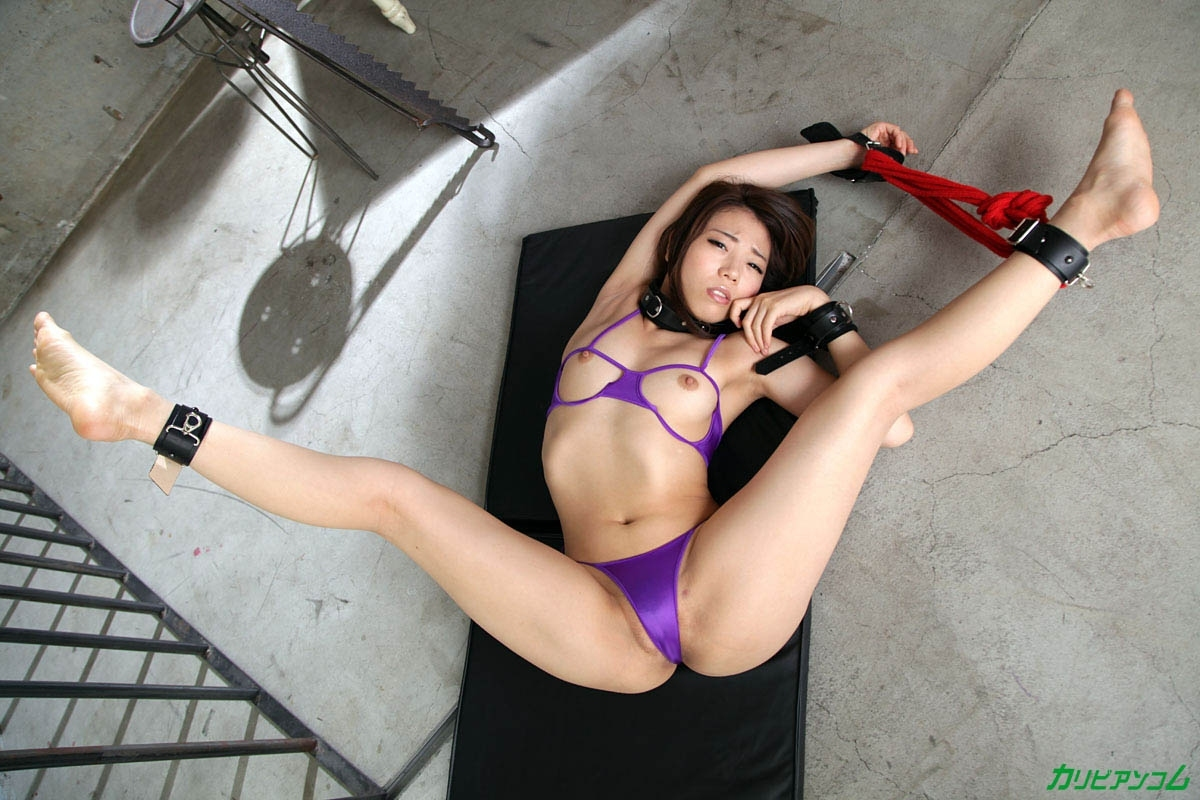 軟体ボディ美女 雫月こと 拘束調教セックス 4