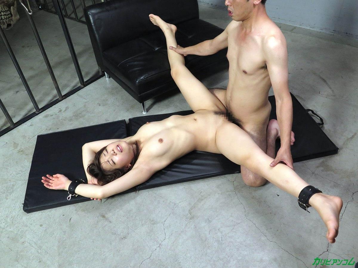 軟体ボディ美女 雫月こと 拘束調教セックス 17