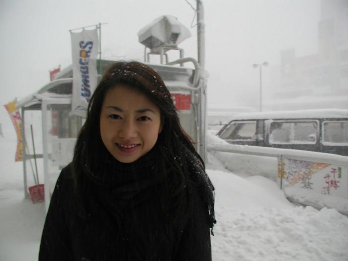 雪国の色白素人美女のプライベートヌード&セックス画像 1
