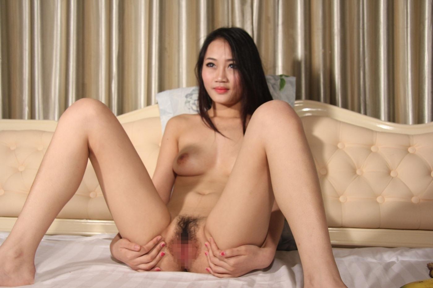 巨乳な美女モデルのマ○コくぱぁヌード画像 9