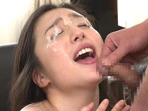 【古川いおり】美人の顔に濃くて臭そうなザーメンをぶっかけまくった結果さらに綺麗になる奇跡!
