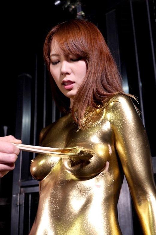 金粉ヌード画像 03