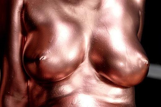 金粉ヌード画像 19