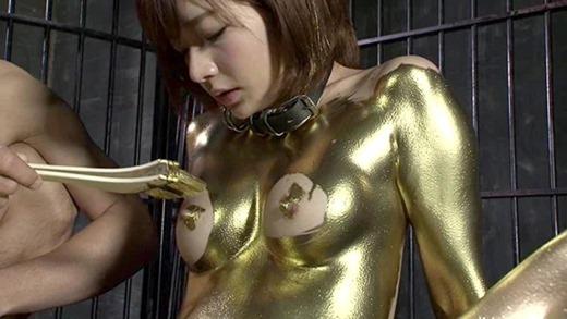 金粉ヌード画像 21