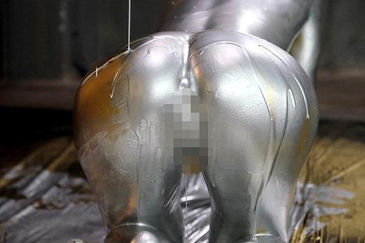 金粉ヌード画像 34