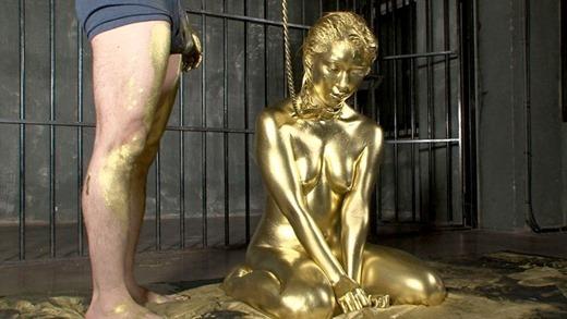 金粉ヌード画像 43