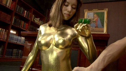金粉ヌード画像 59
