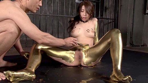 金粉ヌード画像 69