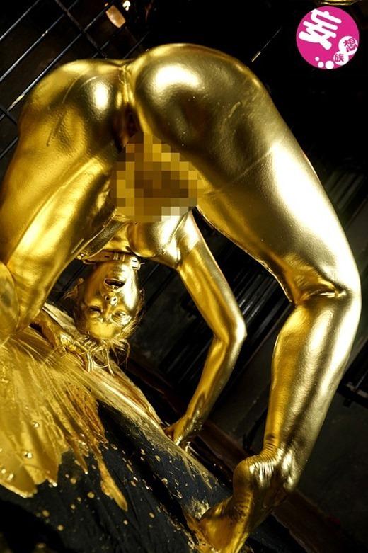 金粉ヌード画像 73