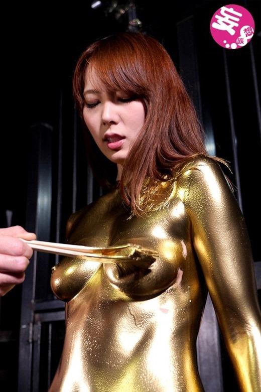 金粉ヌード画像 75