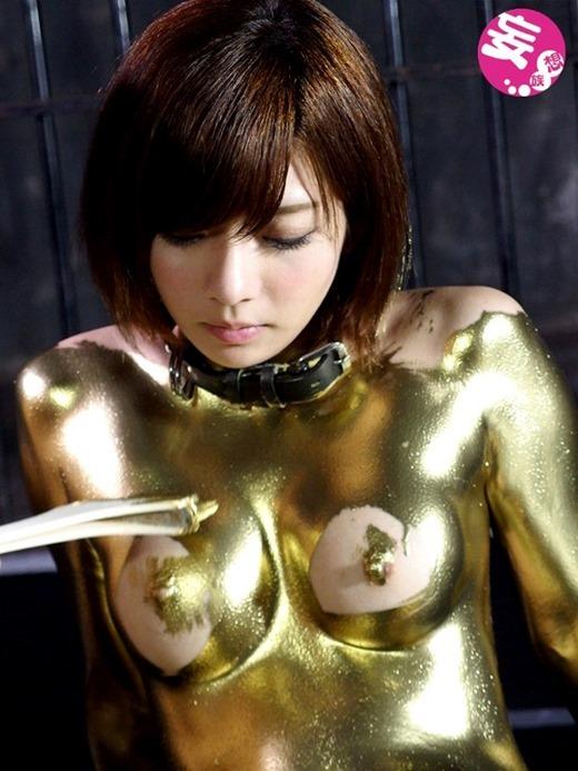 金粉ヌード画像 80