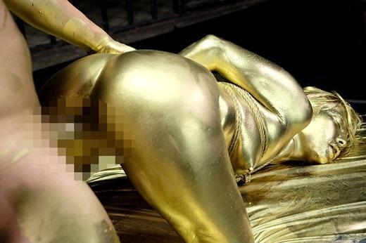 金粉セックス画像 25