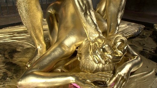 金粉セックス画像 28