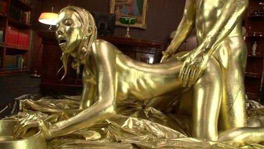 金粉セックス画像 44