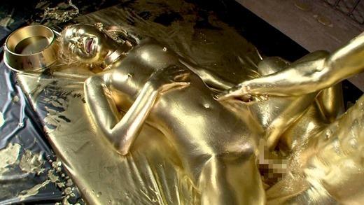金粉セックス画像 47