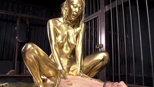 金粉セックス画像 48