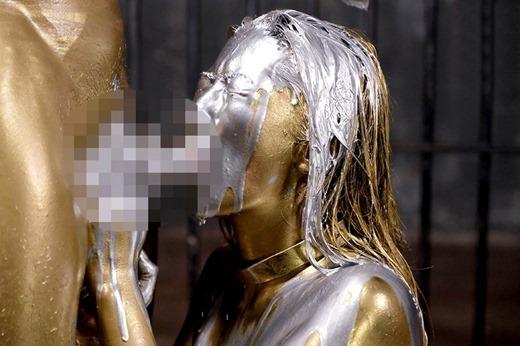 金粉セックス画像 63