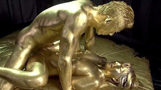 金粉セックス画像 81