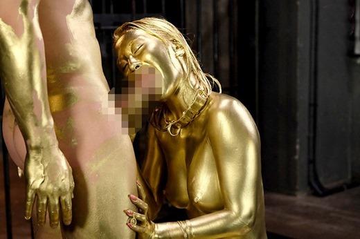 金粉セックス画像 84