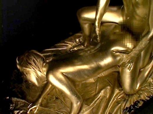 金粉セックス画像 136