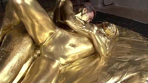 金粉セックス画像 144