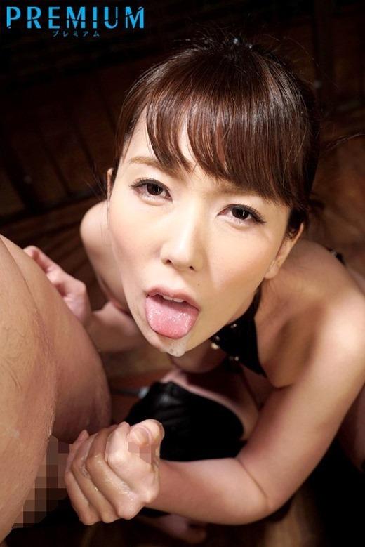舌上射精画像 117