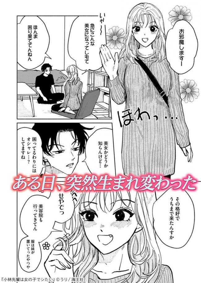 【朗報】レディコミさん、とんでもない設定の性転換漫画を描いてしまう