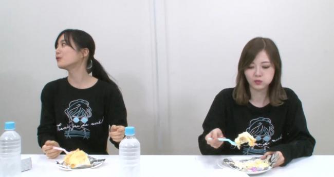 【放送事故】乃木坂46白石麻衣さん、youtubeでケーキを一口食べて捨てる様子が映り込み炎上