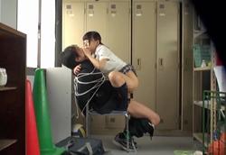 【痴女】体育倉庫内で、女子生徒たちに毎日犯される!いじめられっ子性奴隷 拘束逆レ●プ1