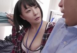 【痴女】アパレルショップの巨乳店員さんに誘惑される NTR 痴女られSEX!羽生アリサ(羽生ありさ)1