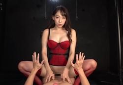 【痴女】バイノーラル淫語痴女 見つめられ射精管理FUCK!蓮実クレア【主観】1