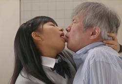 【痴女JK】おじさん教師を弄ぶ意地悪フェラ手コキ 根尾あかり2