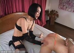 SM女王様動画 縛り、ムチ、アナル調教!1